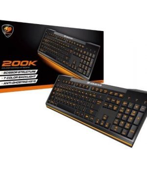 Teclado Gamer Cougar 200K Backlight 7 Colores