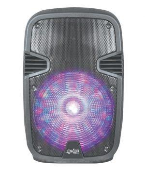 Parlantes Overtech OV-215M Bluetooth 1000W REMOTO MICROFONO PORTATIL BATERIA