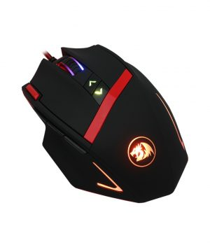 Mouse Gamer Redragon M801 MAMMOTH 16400 Dpi Laser Negro