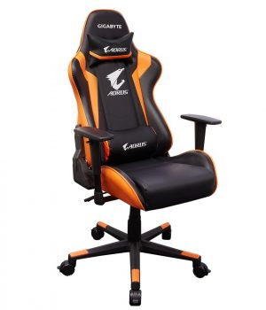 SILLA GAMER GIGABYTE AORUS AGC300 BLACK/ORANGE