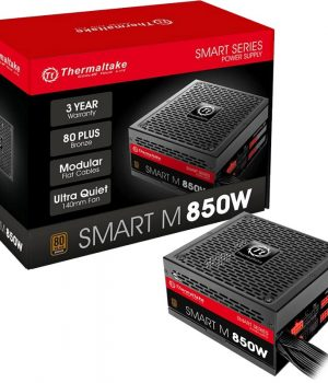 Fuente Thermaltake Smart 850W Modular 80 Plus