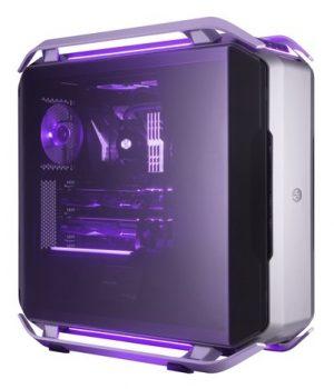 GABINETE COOLERMASTER COSMOS C700P RGB TEMPLADO FAN 140mm x 3