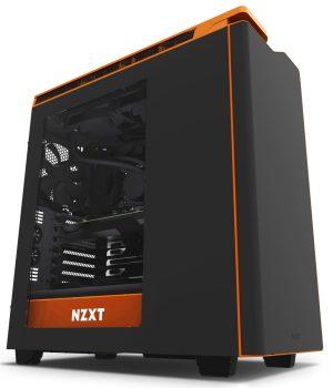 Gabinete NZXT H440 Negro / Naranja