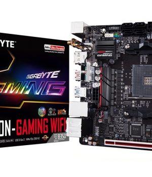 Mother Gigabyte AB350N-Gaming Wifi AM4 DDR4 MINI ITX