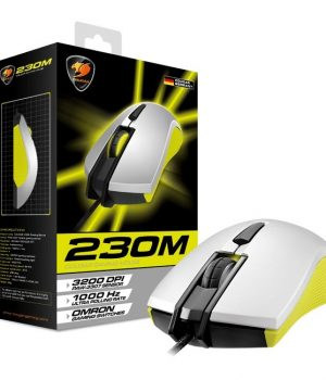 Mouse Gamer Cougar 230M Yellow 3200Dpi