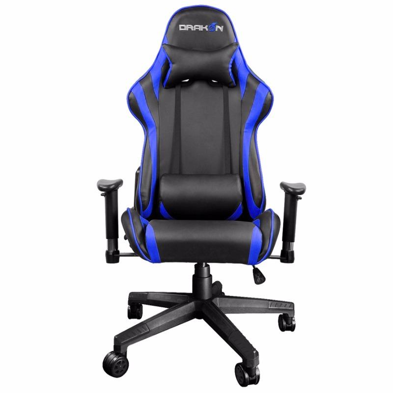 Silla gamer raidmax dk 706 black blue precio calidad for Silla gamer oferta