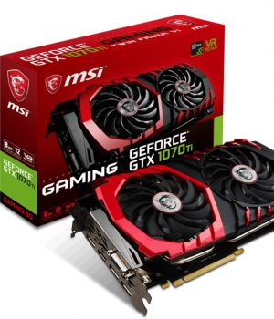Placa de Video MSI GTX 1070 Ti Gaming 8GB DDR5
