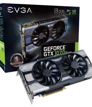 Placa de Video EVGA GeForce GTX 1070 Ti FTW2 GAMING 8GB
