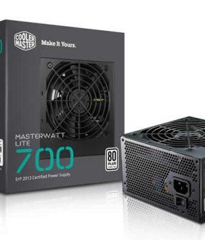 Fuente Cooler Master 700w Masterwatt Lite 80 Plus White