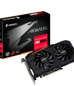 Placa de Video Gigabyte Radeon RX 580 AORUS 4GB