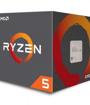 MICRO AMD RYZEN 5 2600X 4.2Ghz 6 CORE 12 TH AM4 COOLER