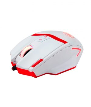 Mouse Gamer Redragon M801 MAMMOTH 16400 Dpi Laser Blanco