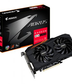 Placa de Video Gigabyte Radeon RX 580 AORUS 8GB