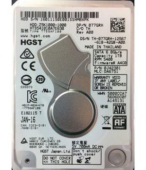 Disco Rigido HGST 1TB 5400RPM Notebook 2.5″