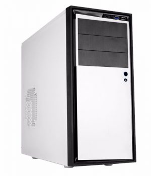 Gabinete NZXT Source 210 Elite White