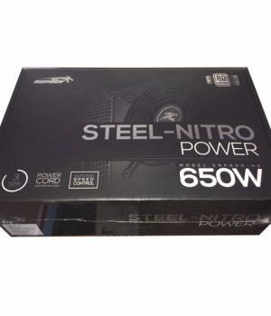 Fuente Sentey 650W 80 Plus 54A Gamer Single Rail