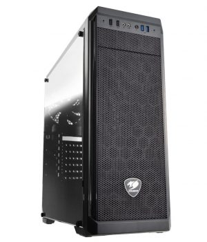 Gabinete Cougar MX330-G VIDRIO TEMPLADO Usb 3.0 Fan 120mm