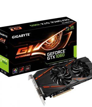 Placa de Video Gigabyte GTX 1060 G1 Gaming 6GB OC