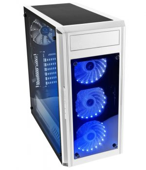 RAIDMAX ALPHA PRIME A15 WHITE TEMPLADO RGB REMOTO BLANCO :: OFERTA