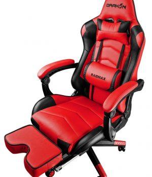 SILLA GAMER RAIDMAX DK-709 BLACK/RED