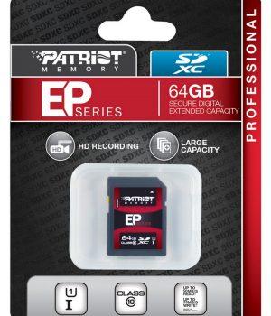 Memoria SDXC Patriot EP Series 64GB Class 10 U1i