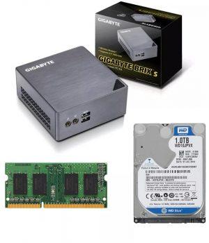 Mini Pc Gigabyte Brix Core i3 6100 2.3GHZ 8GB 1TB GB-BSI3H-6100
