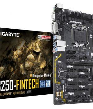 MOTHER GIGABYTE B250-FINTECH MINERIA LGA 1151
