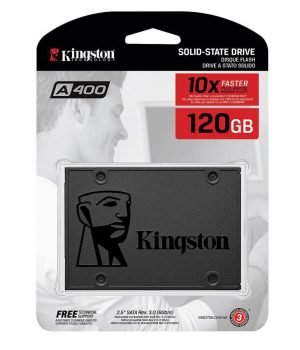 Disco Rigido SSD Kingston A400 120GB 2.5″ Sata 6Gb/s