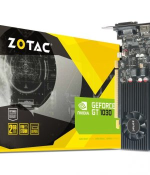 Placa de Video ZOTAC GeForce GT 1030 2GB GDDR5 HDMI/DVI Low Profile