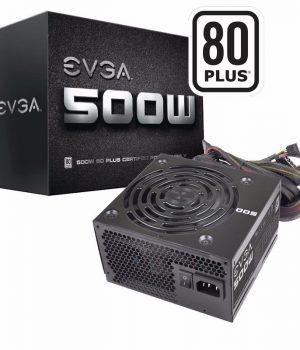 Fuente EVGA 500W 80 Plus BRONZE
