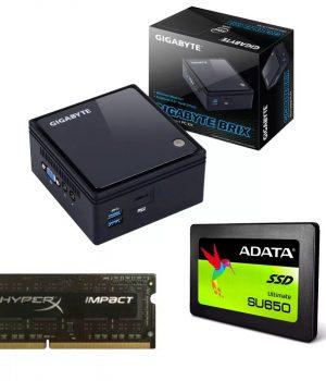 Mini Pc Gigabyte Brix Intel 4gb Ddr3l 1600mhz Ssd 120gb Sata