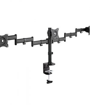 Soporte Triple Monitor Intelaid IT-DB3E 13 a 27 Vesa 100×100