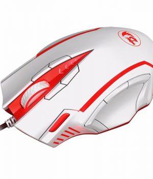 Mouse Gamer Redragon M902 SAMSARA 16400 Dpi Laser Blanco