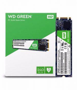 Disco SSD Interno M.2 Western Digital 120GB Green