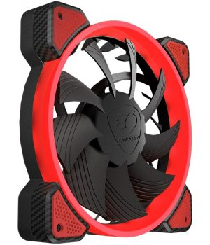 Cooler Fan Cougar FR120 120mm Vortex LED Red