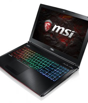 NOTEBOOK MSI GE62VR 7RF APACHE PRO Core I7 7700HQ 15.6″ IPS 16GB SSD 128GB 1TB WIN10 HOME PLU