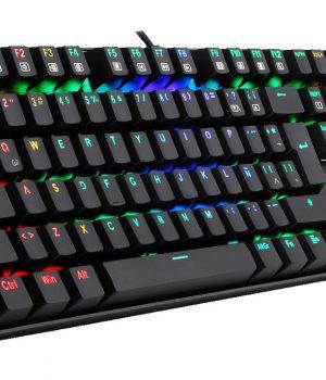 Teclado Gamer Redragon K551 MITRA (VARA RGB) Mecanico RGB Español