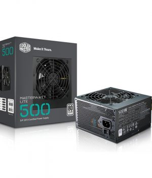Fuente Cooler Master 500w Masterwatt Lite 80 Plus White