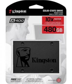 Disco Rigido SSD Kingston A400 480GB 2.5″ Sata 6gb/s