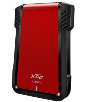 "CARCASA EXTERNA ADATA HDD / SDD 2.5"" EX500 USB 3.1 Rojo"