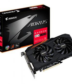 Placa de Video Gigabyte Radeon RX 580 AORUS 8GB
