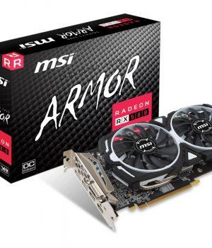 Placa de Video MSI Ati Radeon RX 580 Armor OC 8Gb GDDR5