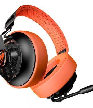 Auriculares Gamer Cougar Phontum Essential Orange C/Mic