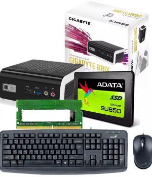 Mini Pc Gigabyte Brix 4105 Intel 4gb Ddr4 Ssd 120gb Sata