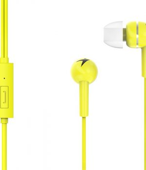Auricular Genius Hs-m300 Amarillo Simple In-ear Headphone