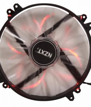Cooler Case NZXT 200mm Airflow Series FZ-200 Red Led