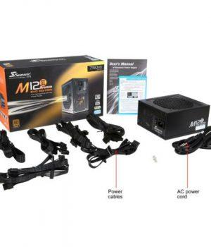 Fuente Seasonic M12 II Evo 750W 80 Plus Modular