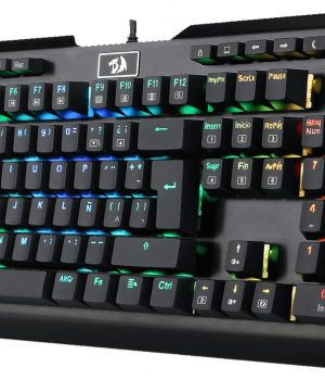 Teclado Gamer Redragon K555 INDRAH Mecanico RGB ESPAÑOL