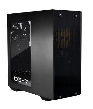 Gabinete EVGA DG-73 Matte Black Acrilico