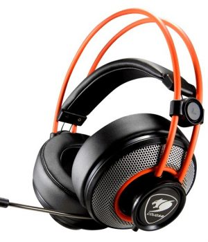 Auriculares Gamer Cougar Immersa C/Mic